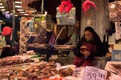 La Boqueria Meeresfrüchte