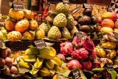 La Boqueria Südfrüchte