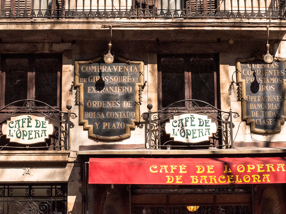 Barcelona - Café de l'opera