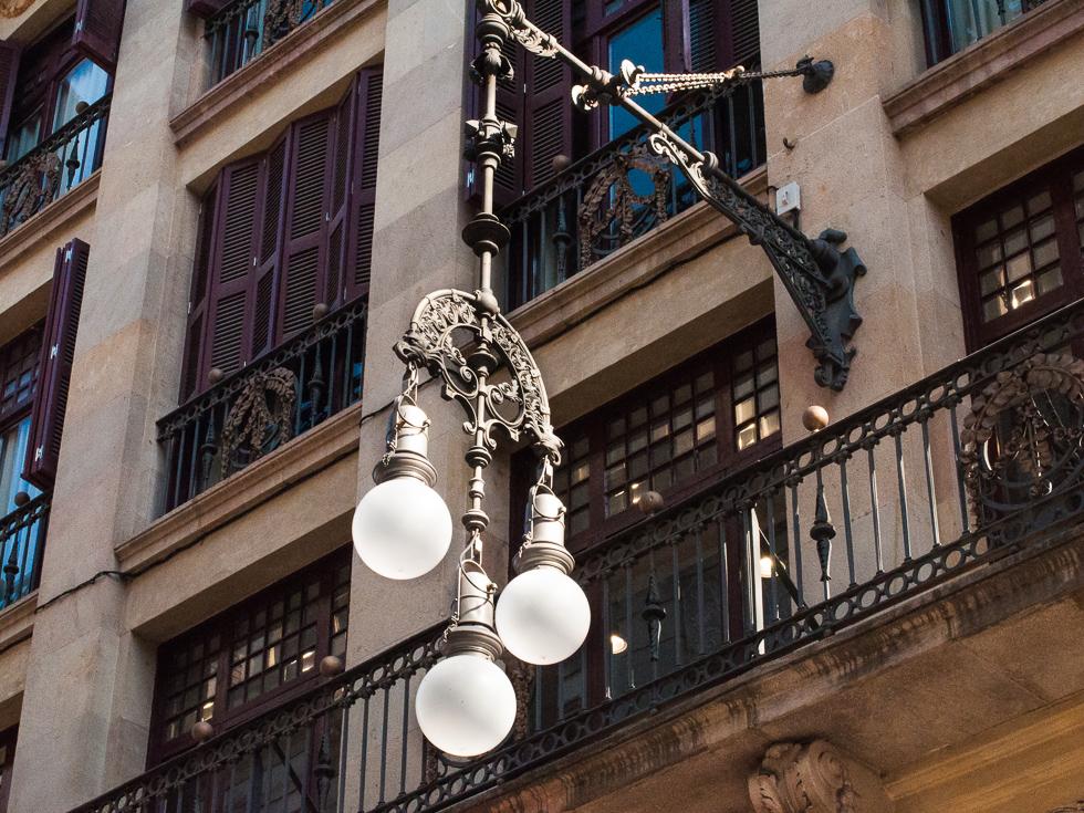 Barcelona - Hauslaterne