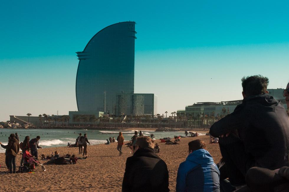 Barcelona - Standgucken