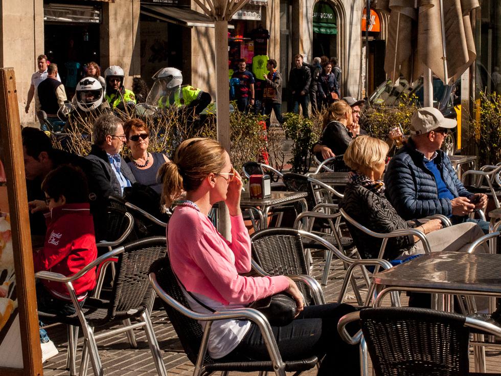 Barcelona - Straßencafé