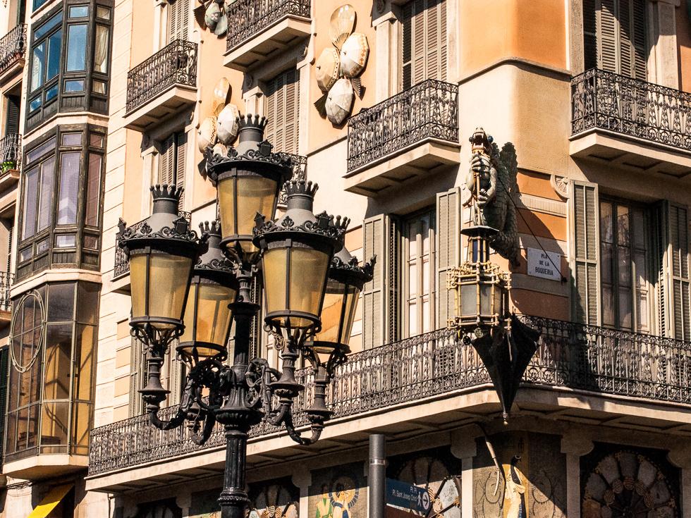 Barcelona - Straßenlaterne
