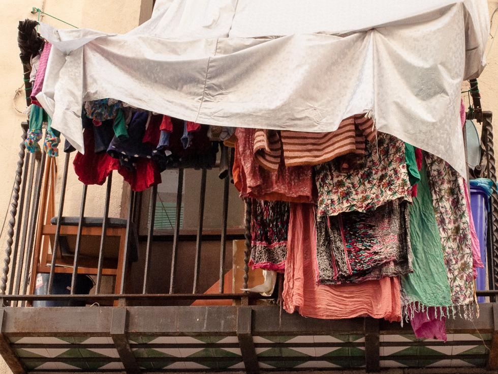 Barcelona - ein Balkonschutz