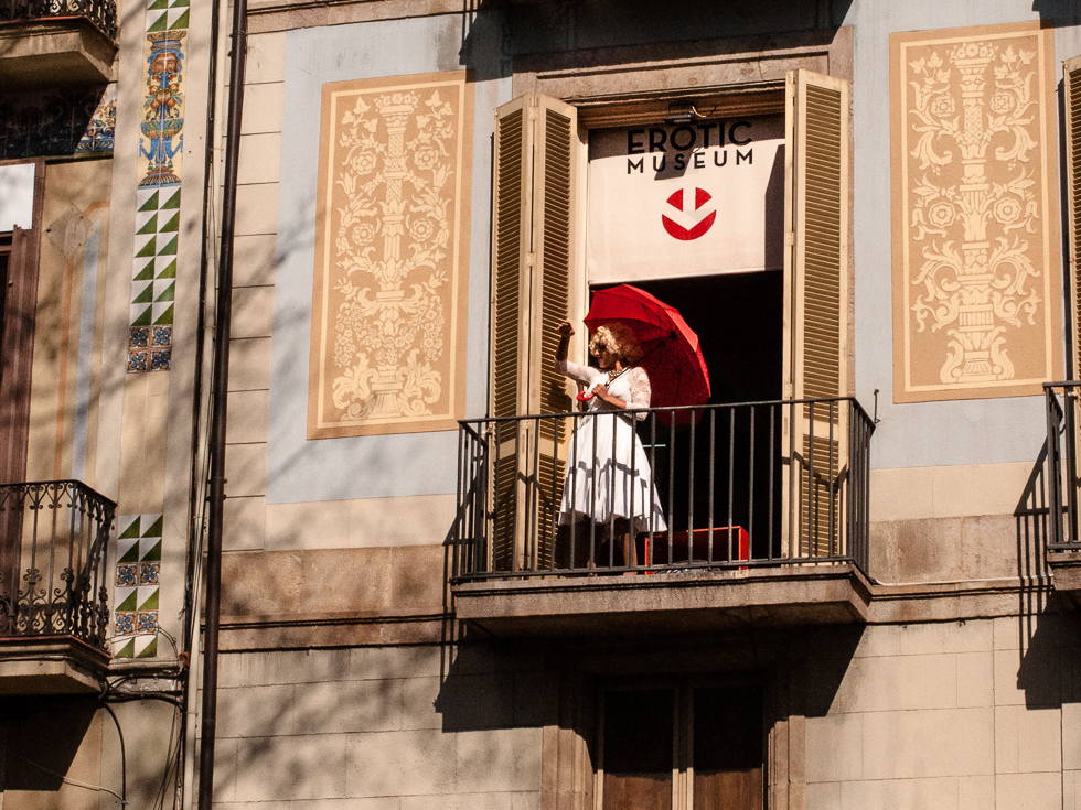 Barcelona - verführerische Balkon