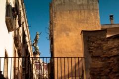 Barcelona - Blick auf eine Heilige