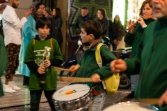 Barcelona - Straßenumzug - der Trommler