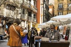 Barcelona - der Kunstmarkt