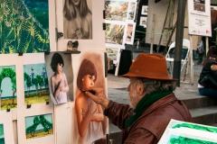 Barcelona - der Maler
